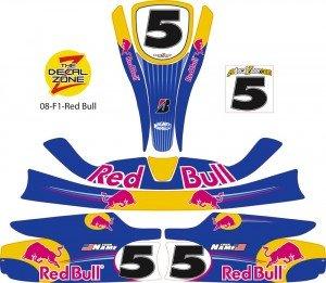 Go kart sponsor decals