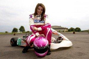 Women Go kart