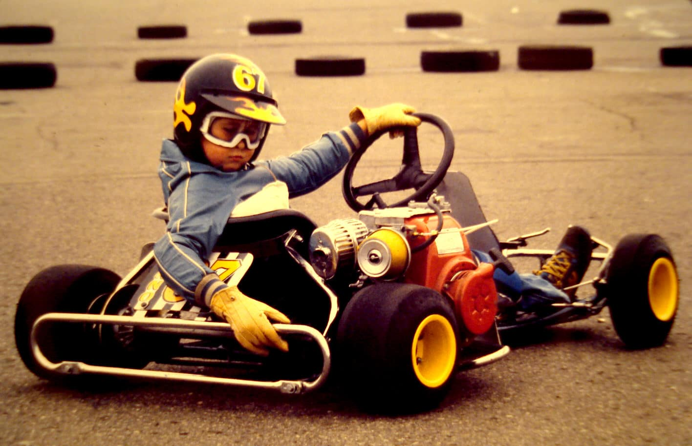 start go karting oldschool