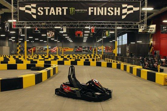 Find Indoor Go Kart Tracks Near me