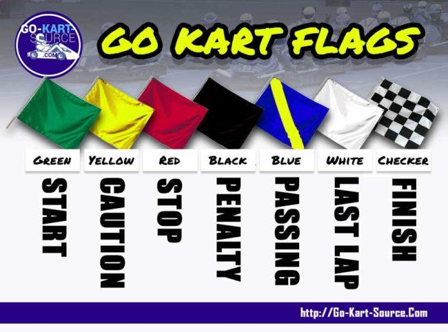 Go Kart Racing Flags
